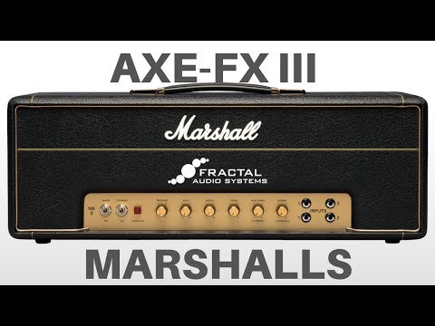 Rig-Talk • View topic - AXE FX III JCM800    Atomica    Cameron CCV