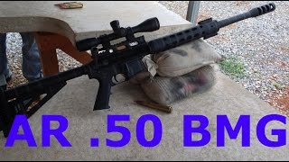 ar 15 with 50 cal barrel