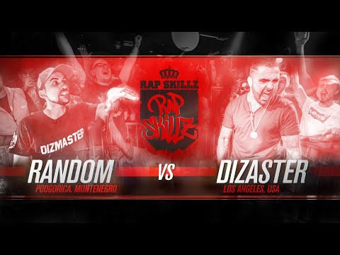 Rap Skillz - Rap Battle - Dizaster (USA) VS Random (Montenegro)