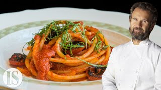 Spaghetti with Tomato Sauce by Michelin Star Italian Chef Carlo Cracco