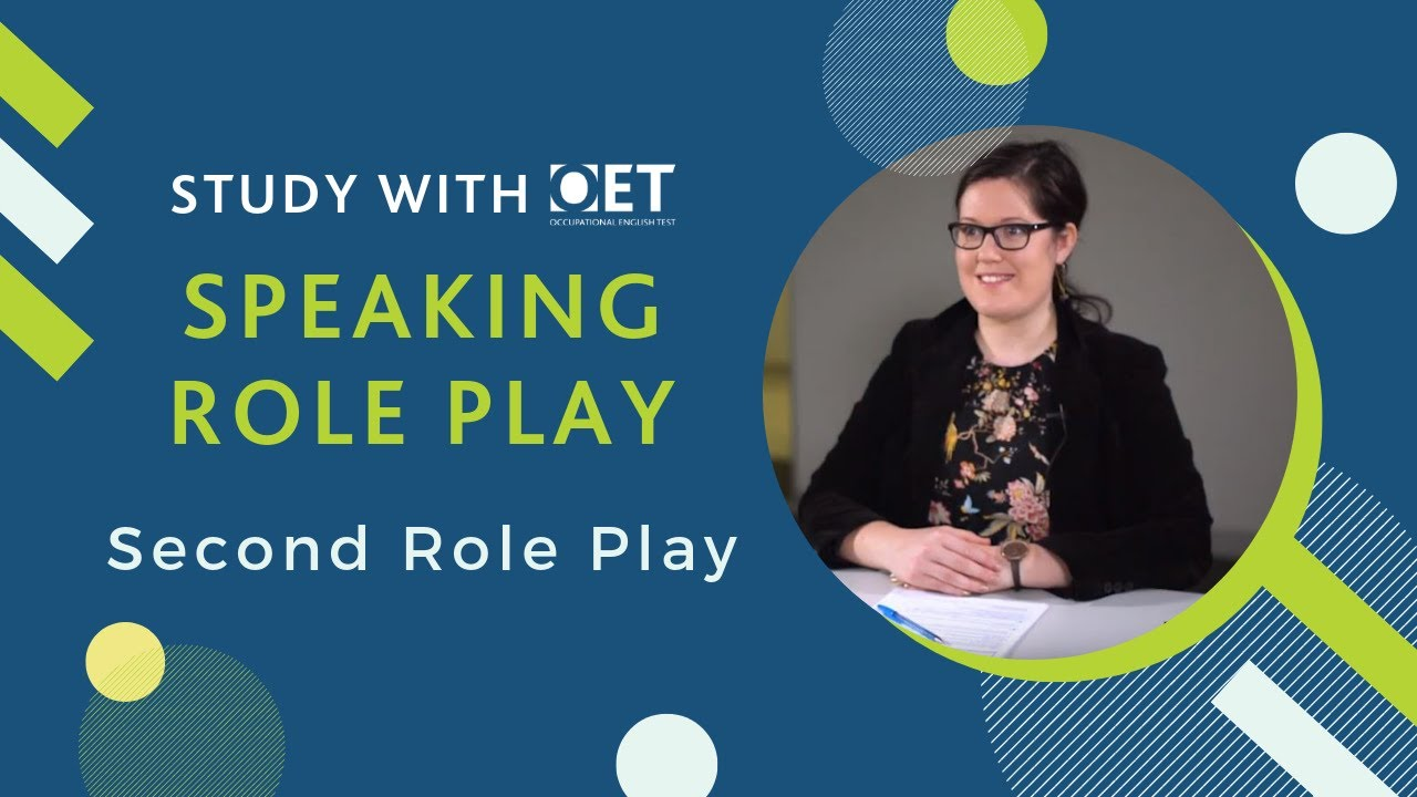 OET Speaking Role Play (Nursing): Second Role Play