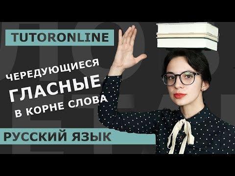 Русский язык | Чередующиеся гласные в корне слова