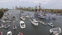 The Invasion Gasparilla Pirate Boat Parade