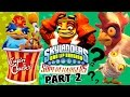 SKYLANDERS BAD LIP READING: Part 2 - Cap'n Clucks Chicken Song (Superchargers Say What?)