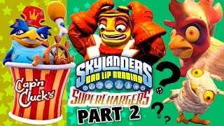 SKYLANDERS BAD LIP READING: Part 2 - Cap