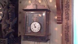 Antique Black Forest clock collection, Roys Clocks