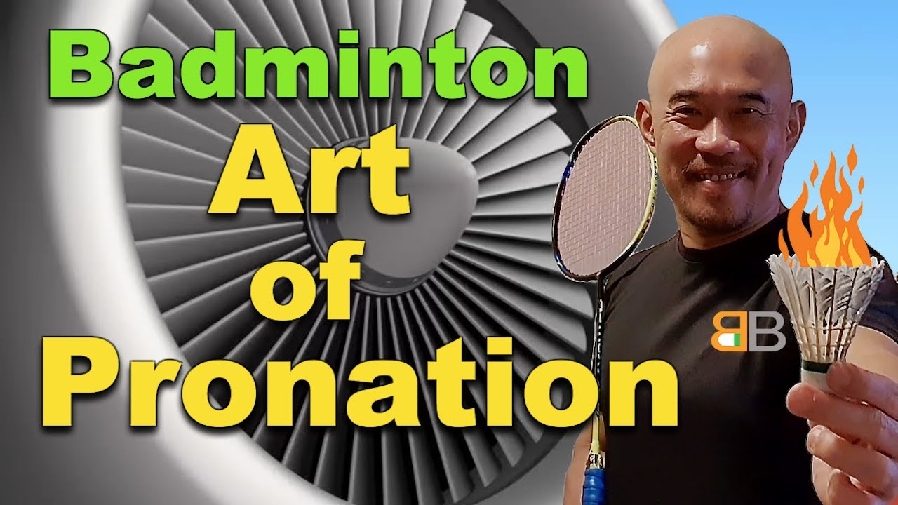 This may be why your badminton smashes are lacking in power?