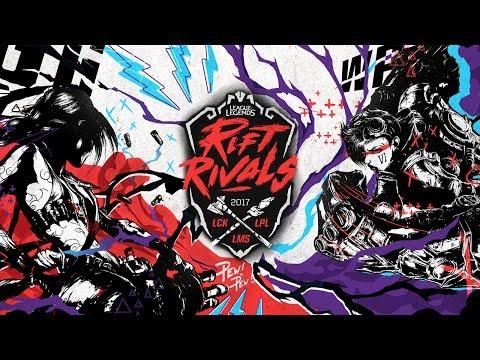 2017 Rift Rivals: LCK vs. LPL vs. LMS - Semifinals