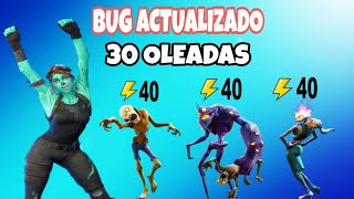 BUG UPDATED 30 Waves Save The Fortnite World