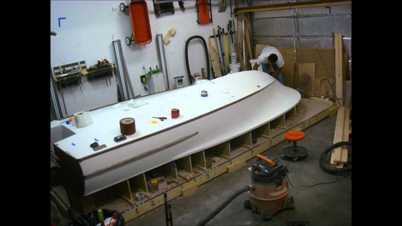 Flats Boat Build part 19 - YouTube