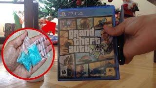 La Sorpresa mas Perturbadora Encontrada Dentro de una Caja de Grand Theft Auto 5