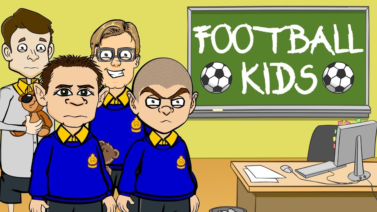🚸FOOTBALLERS + MANAGERS AS KIDS!🚸 (Top Eleven Careers Day Parody)