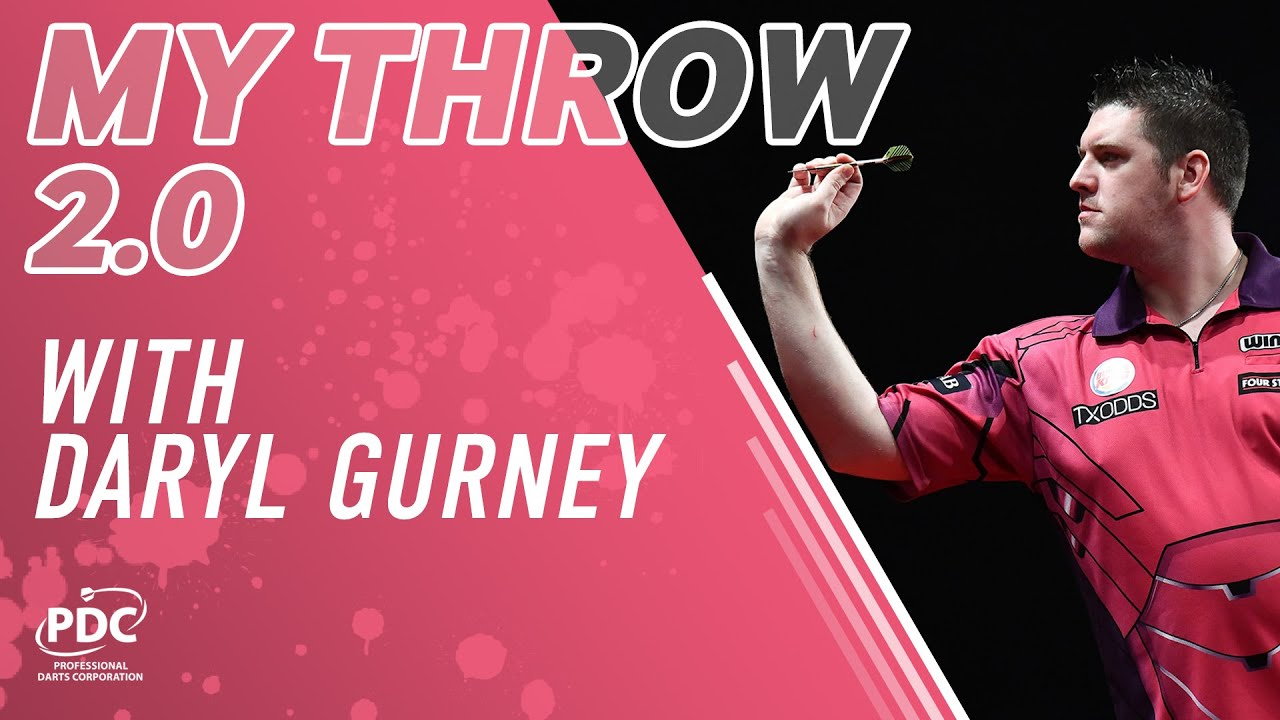 How To Play Darts   My Throw 2.0 with Daryl Gurney - YouTube