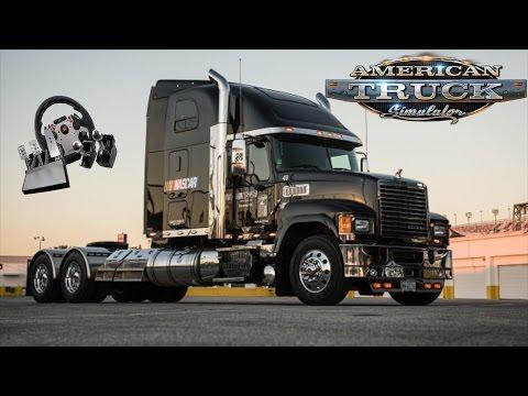 American Truck Simulator (ATS) #1 - Amerikan Rüyası