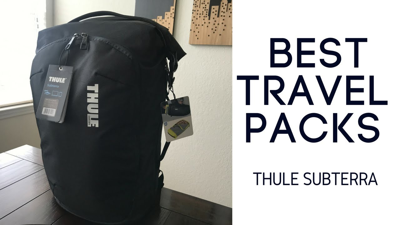 Best Travel Packs  Thule Subterra 34L Backpack Review - YouTube bff393b72690d