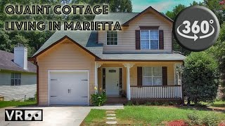 MyVRWalkThrough.com:  Cottage Living in Marietta A VR 360º WalkThrough