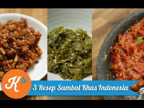 Resep Aneka Sambal Khas Indonesia