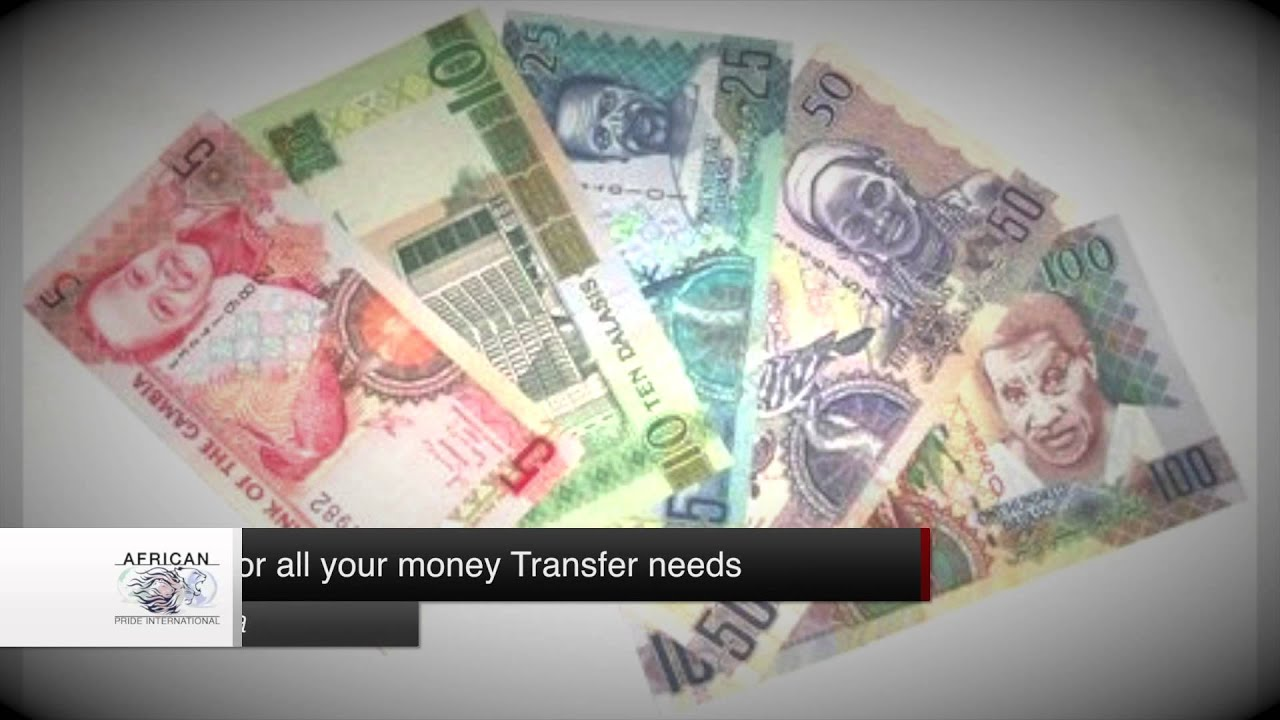 Api Money Transfer From The Us To Gambia And Senegal