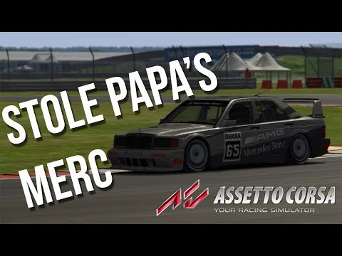 Driving the Mercedes Guy's Benz | Assetto Corsa