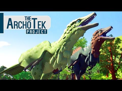 The Archotek Project - Caçando Com Deinonychus, Ataque De T-Rex! | Dinossauros (#3) (PT-BR)