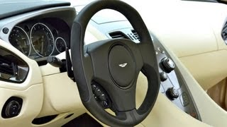 New Aston Martin Vanquish 2013, technical story(part TWO)