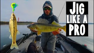 How To Jig Walleyes Like A Pro