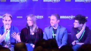 BroadwayCon 2016 - Deaf West, East (Spring Awakening) Part 2