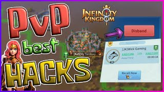 How To CANCEL & FĄKE Attacks to KILL STRONGER PLAYERS in Infinity Kingdom! PvP Best Tricks!