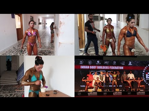 Miss India 2019 Women's Bodybuilding competition