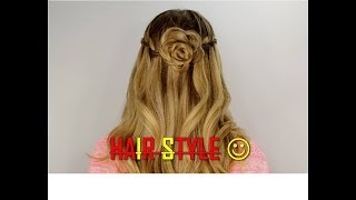 Super Hair style Just || Five Minute ||