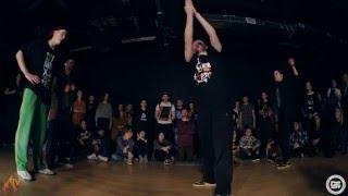 GFF Battle All Styles 2x2 Kadetman & Damdancer(Win) vs. Incredible Miha & EasyLee