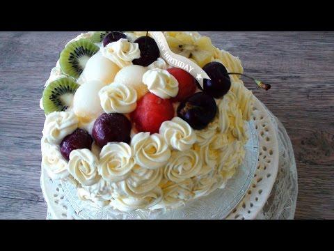 How To Make Rose Cake | Chinese Bakery Birthday Cake - JosephineRecipes.co.uk