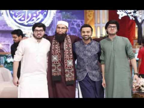 Junaid Jamshed /beautiful Naat Dunya ke ae Musafir/all recent pics