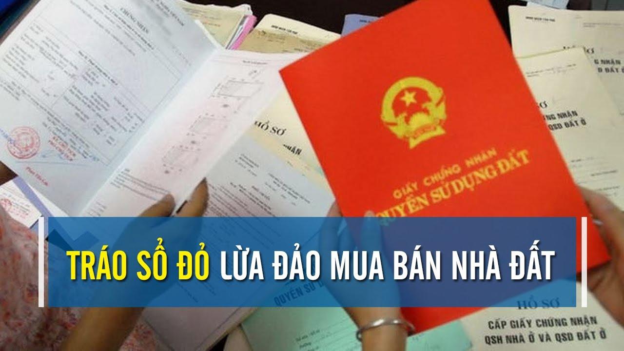 Chiêu thức lừa đảo: Tráo sổ đỏ khi xem giấy tờ mua nhà | CAFELAND