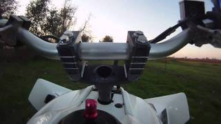Shock & Vibe Handlebar Mount By Precision Racing Products