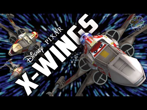 Disney/Pixar's X-WINGS Movie Trailer