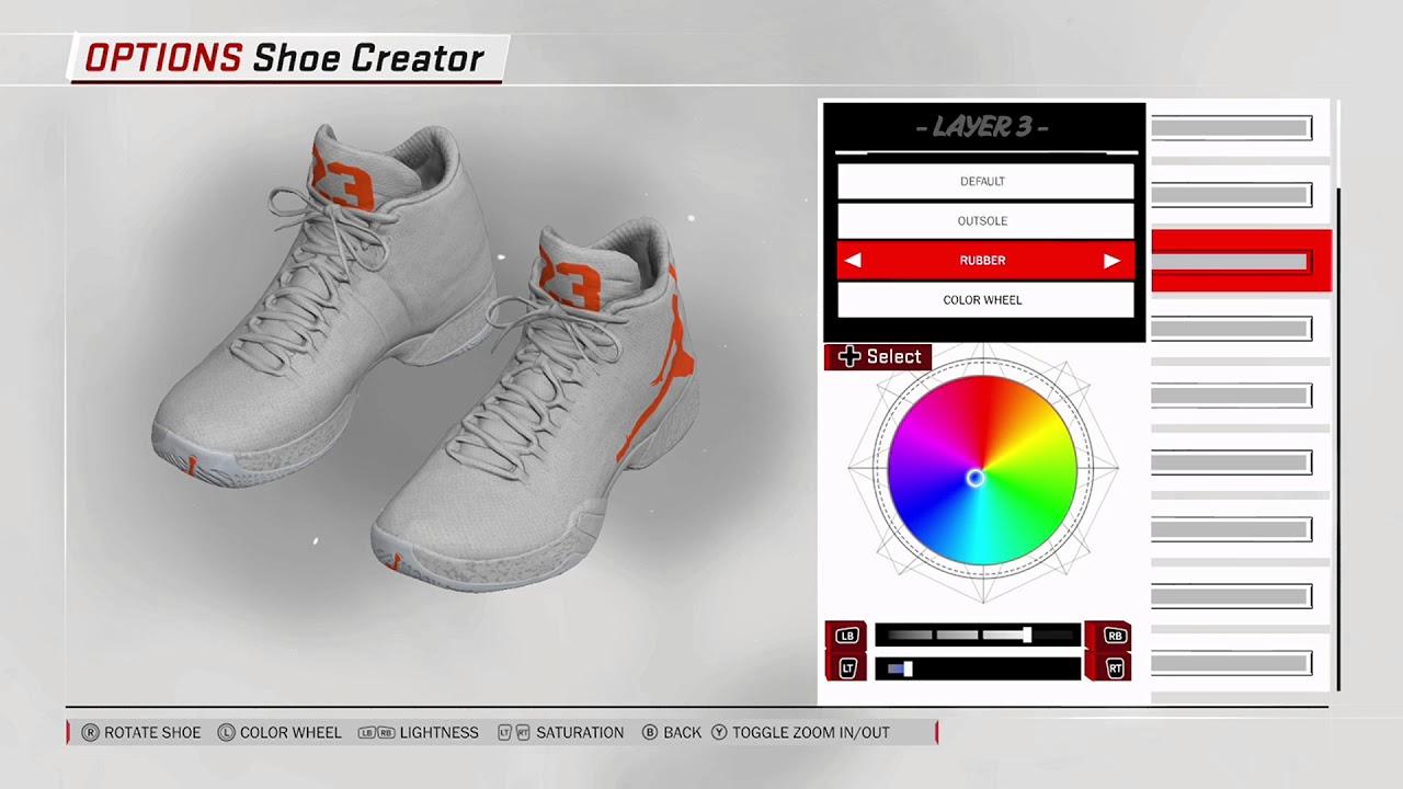 jordan shoes nba 2k18 ratings rajon 769530