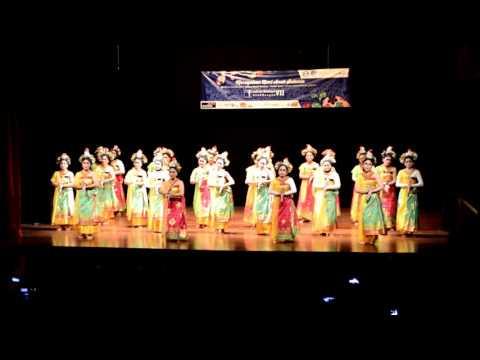 Puspanjali Dance Bali Rara Mellenia