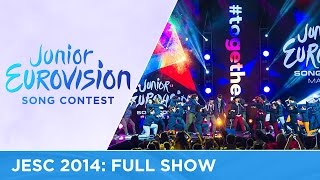 Junior Eurovision Song Contest 2014 - Full Show