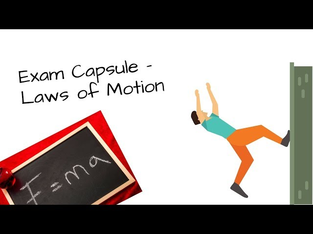 Class 11 Physics - Laws of Motion in 90 min | Exam Capsule | S2S Classes