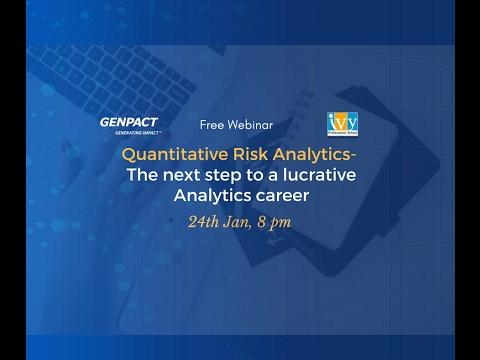Quantitative Risk Analytics   The Next Step to a Lucrative Analytics Career