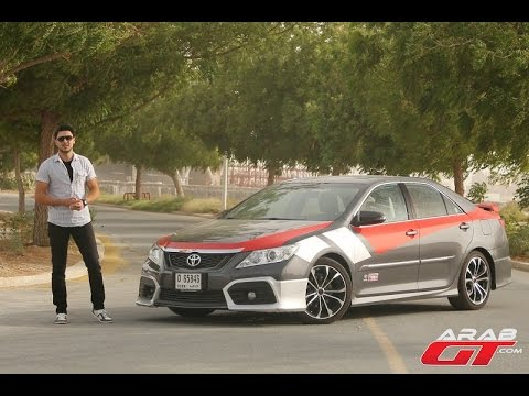 Toyota Aurion TRD 2015 تويوتا اوريون