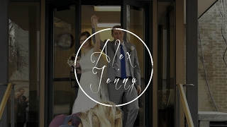 Alex & Jenny Johnson Short Impromptu Salt Lake Temple Wedding Video