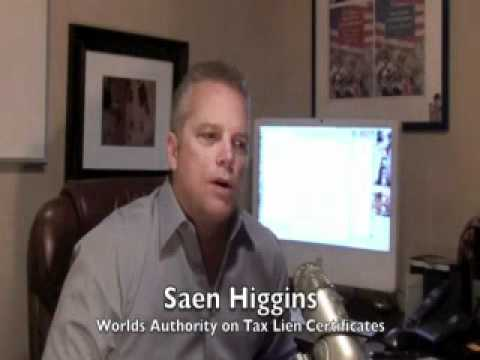 Saen Higgins discusses Douglas county Nebraska tax lien certificate sale