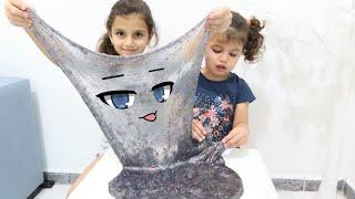 سوار وماسة يصنعون سلايم عملاق | sewar and masa make a giant slime