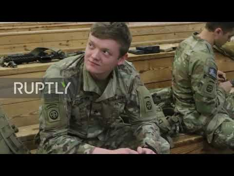 USA: First troops deployed to Middle East from Fort Bragg amid rising tensions