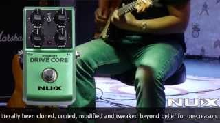 NUX Drive Core sound clip (Tubescreamer)