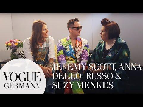 Jeremy Scott & Anna Dello Russo im Gespräch mit Suzy Menkes   VOGUE Interview