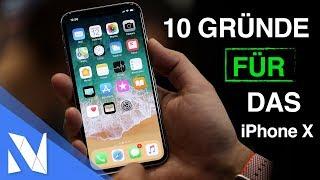 10 Gründe für das iPhone X! | Nils-Hendrik Welk