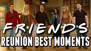 """Friends"" Reunion Best Moments"
